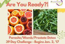 39Day Live Detox Challenge-Parasite/Womb/Prostate/Sugar Detox!