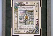 Needleart and Stitchery / cross stitch, needlework, hardanger, tatting, needlepoint, and quilting and associated needle-art projects