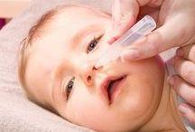 bébé malade