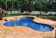 Swimming Pools with Vinyl Lined Concrete Walls.