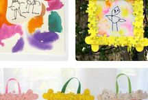 Grade 1: Mother's Day Crafts