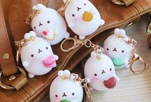 Kawaii key rings