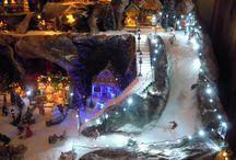 Kerst dorpen