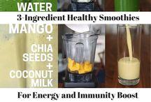 energy smoothies