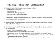 """Eastover Elementary / CritterKin met with Brad Waid and his 3rd graders at Eastover Elementary for a CritterKin """"BE KIND"""" reading and brainstorming session. We had a great time and came up with a good plan. Check it out and come back soon to see the results of our great ideas and project planning!"""