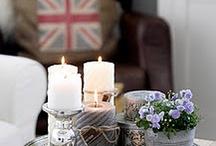 kynttilä asetelmat