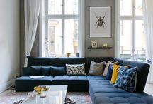 Living room and sofa ideas