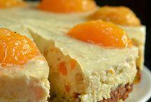 ciasto brzoskwiniowe z kaszä jaglanä i siemieniem lnianym