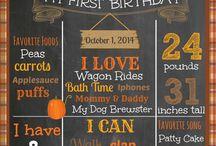 mathiu first birthday / by Melanie Cahoon