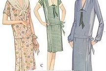 Inspiration for 1920s Dresses I Want to Make