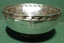 Antique & Vintage Solid Silver Bowls & Dishes