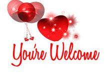 You 're wellcome