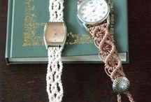 brățară ceas împletită