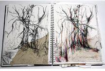 Artist's sketchbooks
