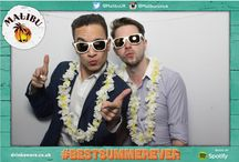 Malibu x Spotify photobooth! / Some of our favourite photos from our #Malibu photobooth at our awesome Paloma Faith DJ set event with Spotify!