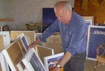 Cornish artists / photographs and portraits of artists of Cornwall