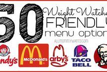 Weight Watchers Wows! / Weight Watchers food help  / by Amanda Swilling