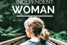 femeie independenta