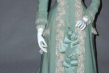 1890 - 1899 / kleding voor dames en heren van de jaren 1890 - 1899