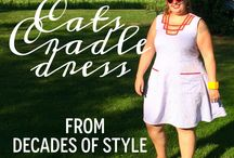 #105 Cats Cradle Dress / Images for Decades Everyday pattern #105
