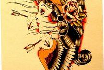 Traditional Tattoo's / Traditional Tattoo's