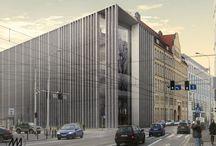appellate court in Wrocław / third prize in competition for appellate court in Wrocław, designed by Major Architekci