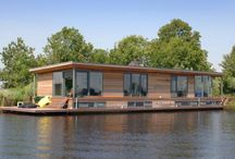 house floating on water