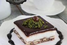 Kolay bisküvilü pasta