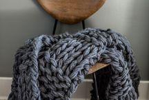 Big knit blankets