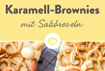 Karamell Brownie