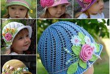 Crochet hat child / Childs crochet hat
