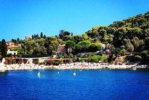 Azure coast, France