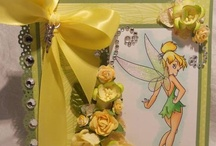 tinker bell and Disney cards