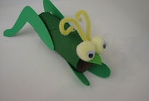Insects Invasion - Craft ideas