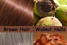 Lighten hair naturally