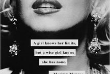 I'm from MARILYN MONROE