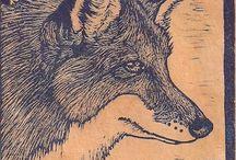 linocut-woodcut