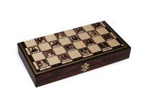 Szachy / Nasza oferta zawiera także szachy i akcesoria szachowe – m. in. zegar szachowy. Posiadamy wyłącznie produkty wykonane przez znanych producentów, dlatego bez wątpienia warto skorzystać z naszej oferty.