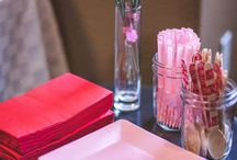 Valentine's Day Baby Shower Ideas / All sorts of ideas for the baby shower planned around Valentine's Day!