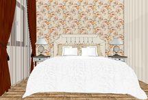 спальня в гостевом доме