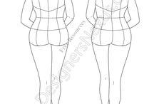 Fashion Designs/Drawings