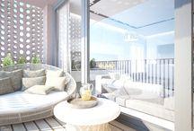 Balkón a terasa / Balcony, terrace, balkón, terasa