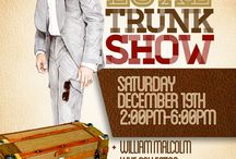 WILLIAM MALCOLM LUXE TRUNK SHOW / WILLIAM MALCOLM LUXE TRUNK SHOW