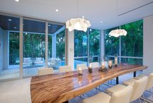 Sala de jantar rústico