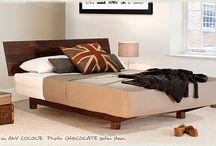 Floating Beds / A collection of our handcrafted wooden Floating Bed frames | Available from www.getlaidbeds.co.uk