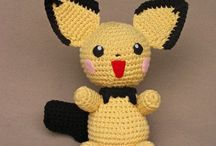 Crochet Pokemon Patterns / Contains both paid and free patterns