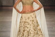 Rimple and Harpreet Narula India Couture Week 2016 / Rimple and Harpreet Narula's Couture 2016 collection spelled bridal in every way. They had something for every bride, colours ranging from deep reds to pastel hues and occasional navy blues. Their signature zardozi embroidery and lot of drama was equally present. Bridelan - Personal Shoppers, Style & Luxury consultants for Indian/NRI weddings. Website www.bridelan.com
