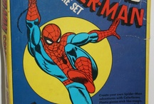 Retro Spider-Man wallpaper murals