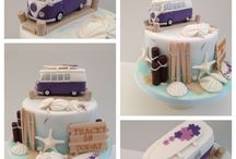 beach cakes - campers