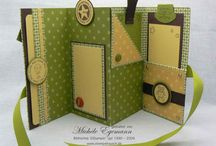 Mini book card